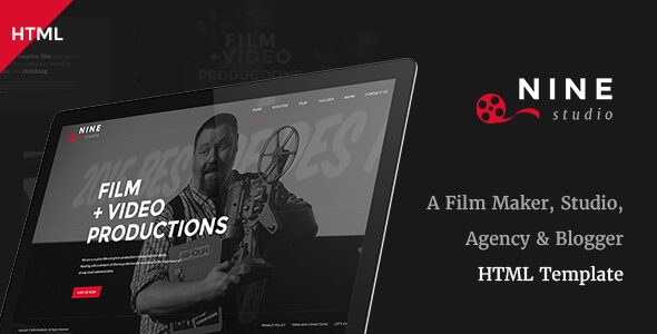 19 Cool Movie & Video HTML Templates – Design Freebies