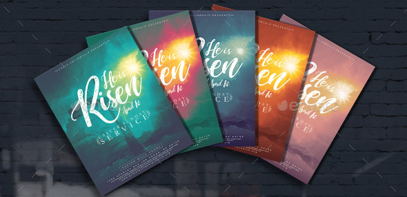 20 Cool Rainbow Flyer Templates – Design Freebies