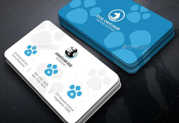 20 Cool Pet Business Card